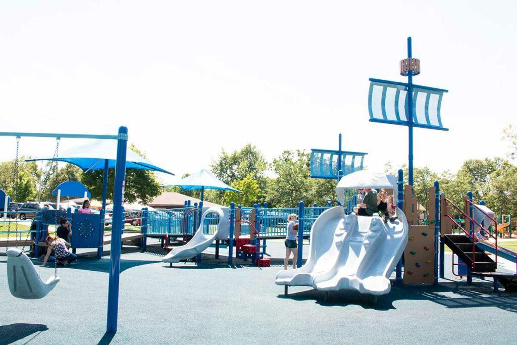 South Park Playground Oshkosh